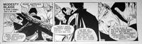 Modesty Blaise daily strip 4577 by John M Burns