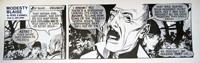 Modesty Blaise daily strip 4618 by John M Burns