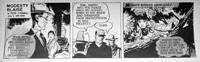 Modesty Blaise daily strip 4626 by John M Burns