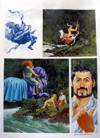 Nikolai Dante Primal Scream part 3 page 6 art by John M Burns