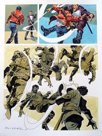 Nikolai Dante 2 art by John M Burns