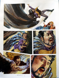 Nikolai Dante The Beast of Rudinshtein part 2 page 6 art by John M Burns