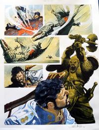 Nikolai Dante The Chaperone part 5 page 1 art by John M Burns