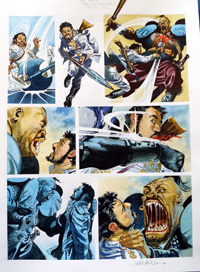 Nikolai Dante The Chaperone part 5 page 3 art by John M Burns