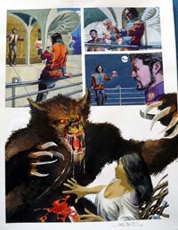 Nikolai Dante The Beast of Rudinshtein part 4 page 1 art by John M Burns
