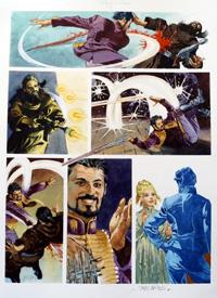 Nikolai Dante Destiny's Child page 5 art by John M Burns
