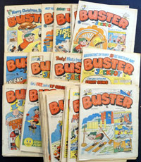 Collection of 50 Buster comics 1982