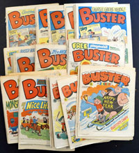 Collection of 52 Buster comics 1983