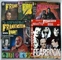Castles of Frankenstein (issues #1 to #16 plus Annual)