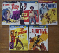 Collection of 5 Cowboy Picture Library comics (1962)