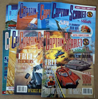 Captain Scarlet comic numbers 1, 2, 3, 4, 5, 6, 8, 9, 10, 12  (10 issues)