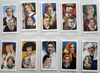 Full Set of 50 Cigarette Cards: Actors Natural & Character Studies (1938) by Various