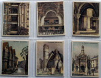 Full Set of 25 Cigarette Cards: Architectural Beauties (1927) by Various
