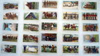 Army Life  Full set of 25 cards (1910)