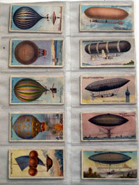 Full Set of 50 Cigarette Cards: Aviation (1910) by Various