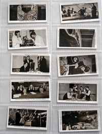 Full Set of 50 Cigarette Cards: Broadcasting (1935) by Various