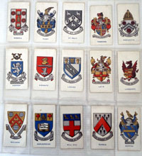 School Badges   Full set of 25 cards (1927)