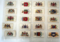 Town & City Arms (Boroughs First Series)  Full set of 50 cards (1904)