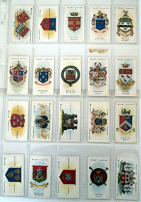 Town & City Arms (Boroughs Second Series)  Full set of 50 cards (1906)