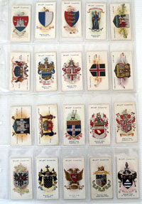 Town & City Arms (Boroughs Fourth Series)  Full set of 50 cards (1906)