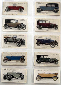 Cigarette and Tea Cards