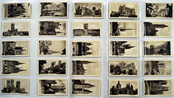 Full Set of 25 Cigarette Cards Cathedrals (1939)