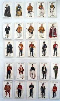 Ceremonial and Court Dress  Full set of 25 cards (1911)