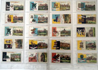 Country Seats and Arms (First Series)  Full Set of 50 cards (1906)