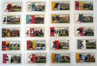 Country Seats and Arms (Third Series)  Full Set of 50 cards (1907)
