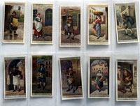 Full Set of 25 Cigarette Cards: Cries of London (1913) by Various