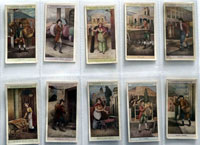 Full Set of 25 Cigarette Cards: Cries of London 2nd (1916) by Various
