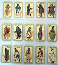 Characters From Dickens (Second Series)  Full set of 25 cards (1914)