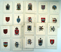 Arms of The British Empire  (First Series)  Set of 25 cards (1931)
