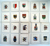 Arms of The British Empire  (Second Series)  Set of 25 cards (1932)