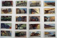 Engineering Wonders: Full Set of 50 Cigarette Cards (1927)