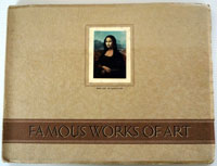 Famous Works of Art  Full set of 100 cards PLUS deluxe album (1939)