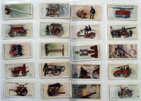 Fire Fighting Appliances: Full Set of 50 Cigarette Cards (1930)