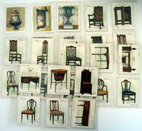 Old Furniture (First Series)  Set of 25 cards (1923)
