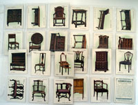 Old Furniture (Second Series)  Set of 25 cards (1924)