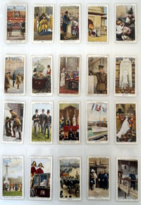 The Reign of HM King George V  Full set of 50 cards (1935)