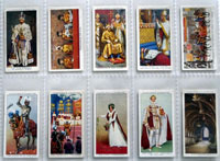 Full Set of 50 Cigarette Cards: The King's Coronation (1937) by Various