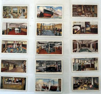 Life On An Ocean Liner   Full set of 25 cards (1930)