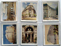 Full Set of 25 Cigarette Cards: Modern Architecture (1931) by Various
