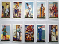 Full Set of 50 Cigarette Cards: Famous Minors (1936) by Various