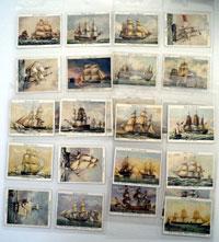 Old Naval Prints  Set of 25 cards (1936)