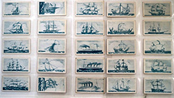 Full Set of 25 Cigarette Cards Old Ships (Third Series) (1936)