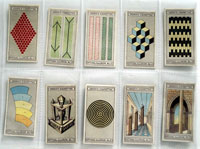 Full Set of 25 Cigarette Cards: Optical Illusions (1923) by Various