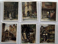 Full Set of 25 Cigarette Cards: Portals of the Past (1930) by Various