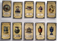 Full Set of 50 Cigarette Cards: Old Pottery and Porcelain 2nd Series (1912) by Various