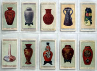 Full Set of 50 Cigarette Cards: Modern British Pottery (1925) by Various